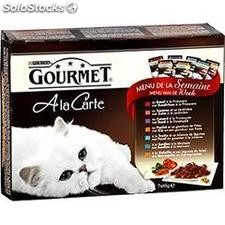 Pack 7X85G gourmet perle purina one