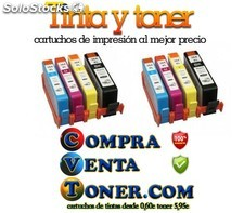 Pack 8 cartuchos de tinta Hp 364xl compatibles