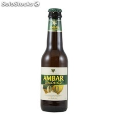 Pack ambar lemon 12 botellas 0,25L
