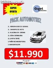 Pack automovil ospel