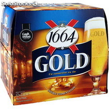 Pack blle 12X25CL biere 1664 gold