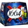 Pack blle 12X33CL biere 1664 5.5°