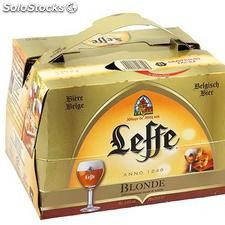 Pack blle 20X25CL biere blonde abbaye leffe