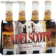 Pack blle 4X33CL biere new adelscott