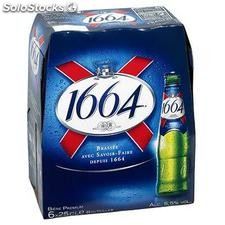 Pack blle 6X25CL biere 1664