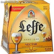 Pack blle 6X25CL biere leffe nectar