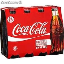Pack blle 8X25CL coca cola
