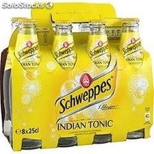 Pack blle 8X25CL indian tonic schweppes
