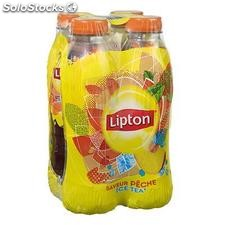 Pack blle pet 4X50CL ice tea peche lipton
