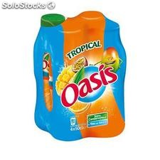 Pack blle pet 4X50CL oasis tropical