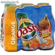 Pack blle pet 6X25CL oasis orange
