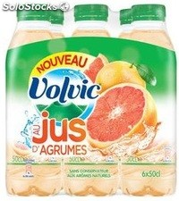 Pack blle pet 6X50CL volvic jus d agrumes