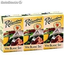 Pack brick 3X25CL vin de table blanc ribaudour