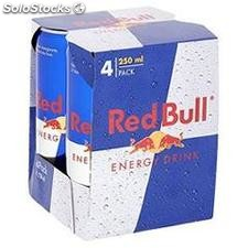 Pack bte 4X25CL energy drink boisson energisante red bull