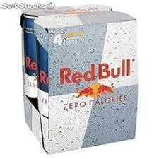Pack bte 4X25CL energy drink red bull zero calorie