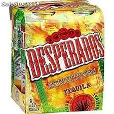 Pack bte 4X50CL biere desperados 5.9°