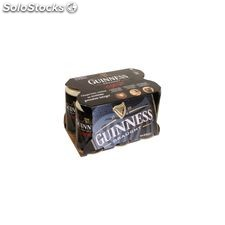 Pack bte 6X33CL biere guinness 8°