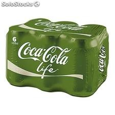 Pack bte 6X33CL coca cola life