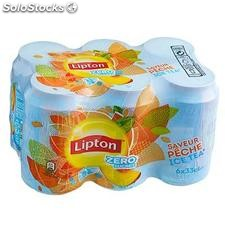 Pack bte 6X33CL ice tea peche light