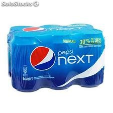 Pack bte 6X33CL next pepsi cola