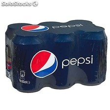 Pack bte 6X33CL regular pepsi ccola