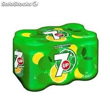 Pack bte 6X33CL seven up prix choc