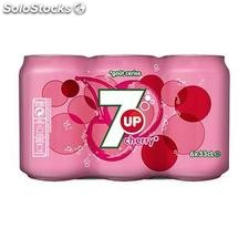 Pack bte 6X33CLCHERRY seven up