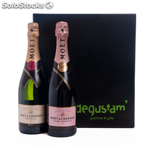 Pack con champagne moët & chandon