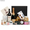 Pack con delicatessen internacionales