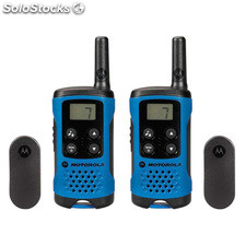 Pack de 2 unidades Walkie Talkies Motorola T41 azul , PMR446