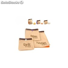 Pack de 3 bolsas Super Fresh - Color - Kraft