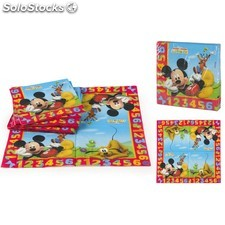 Pack de de 20 Serviettes Jetables MICKEY - (33 x 33cm)