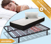Pack descanso Golden cama completa: somier multi, colchón visco y almohada visco