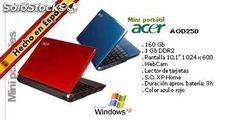 Pack Duo Portátiles ACER (peso inferor a un 1kg) con Windows XP incluidos