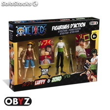 Pack Figuras One Piece Luffy & Zoro 12 cms