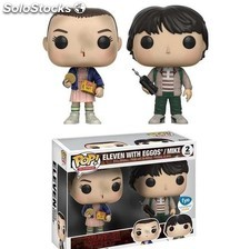 Pack Funko Pop Eleven y Mike Stranger Things