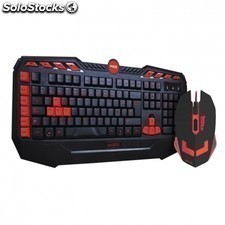 Pack gaming APPROX droide - raton fire + teclado droide - 8 teclas gaming - 6