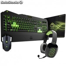 Pack gaming keep out xtreme 01 teclado f89pro + raton x4 + auricular hx5ch +