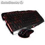 Pack gaming tacens MCP0 raton MM0+ teclado MK0 mars gaming