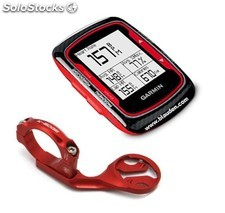 Pack Garmin Edge 500 Red + soporte bici K-Edge Rojo