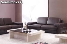 Pack grenoble sofa de 3 + 2 plazas, similpiel -tres colores a elegir-