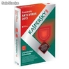 Pack Kaspersky Anti-Virus 2015 3poste 1ans