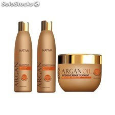 Pack Kativa Argan Oil : Champu+ Acondicionador + Mascarilla 250ml