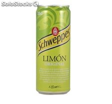 Pack Limón Schweppes 12 Latas 33 Cl.