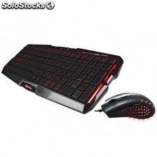 Pack MARS gaming mcp0 - raton mm0 2800dpi 6 botones gaming iluminacion LED