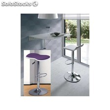 Pack mesa cocina plegable+ 2 taburetes altos