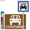 Pack place de parking de covoiturage