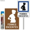 Pack place de parking femmes enceintes