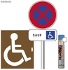 Pack place de parking handicapfont>