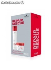 Pack schwarzkopf bc repair rescue: champú 250ml+mascarilla 200ml